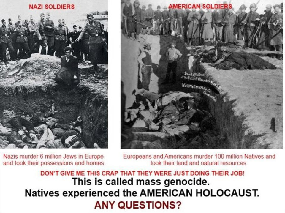 genocide the extermination of native americans Applying the 1948 united nations definition of genocide retroactively to the treatment of native americans by the american government it appears that genocide has occurred the united states did not ratify the convention on genocide until 1988, so genocide prior to this would be a moot point legally.